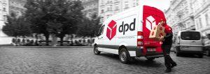 Versand DPD Paketzusteller