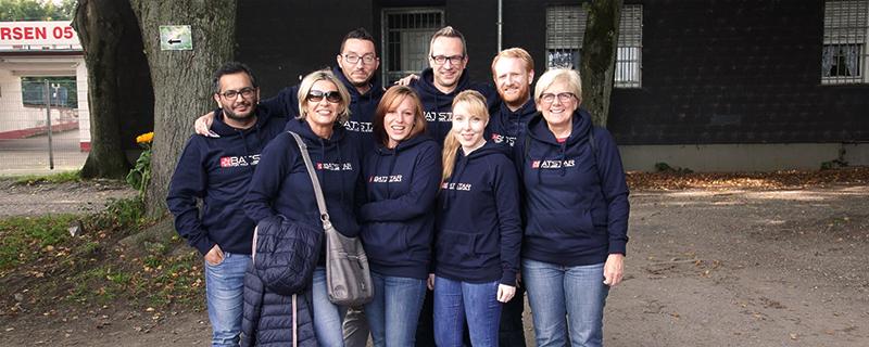 BATSTAR GmbH Teamfoto Mitarbeiter