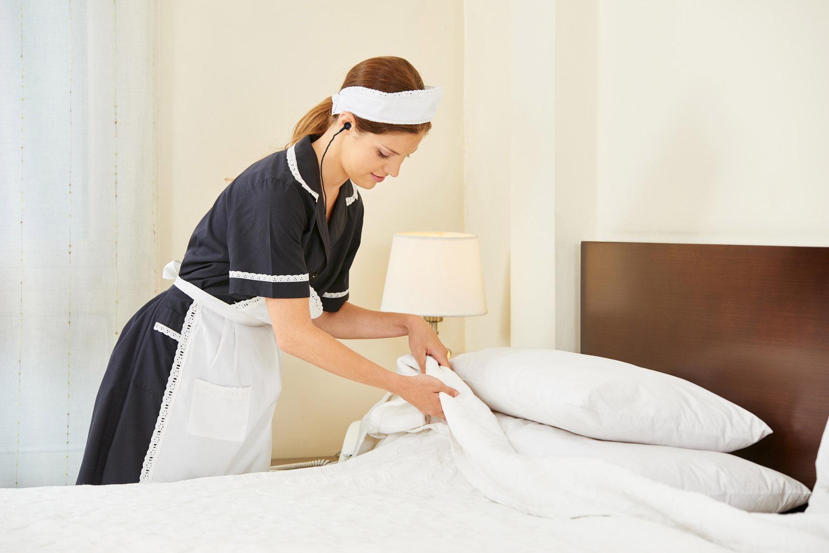 Hotelerie Funkeinsatz Putzfrau
